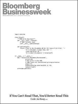 Portada Bloomberg Businessweek