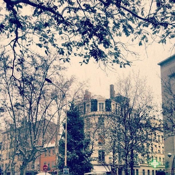 Place Saint-Louis w Lyon, Rhône-Alpes