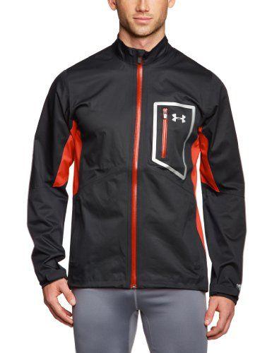 €55.94 in Gr. XL * Under Armour Herren Jacke EU Storm Cocona FZ, schwarz/orange * Sportbekleidung günstig