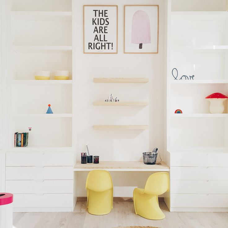 ROOM STYLING: A COLORFUL SHARED GIRLS ROOM