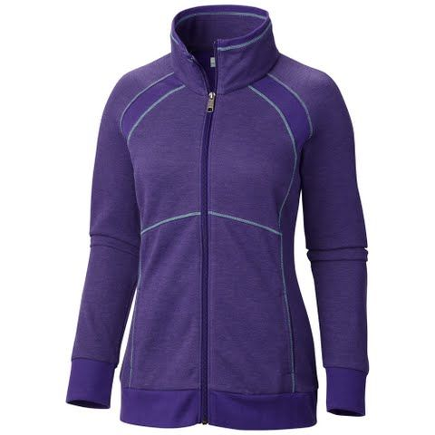Columbia Women's Heather Hills Full - Zip - Hyper Purple: Like its counterpart the Columbia Heather Hills Dress this insanely comfortable…