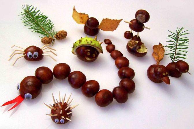Marmalade.hu - Ötletes figurák gesztenyéből