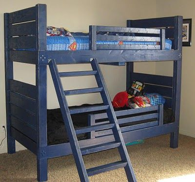 homemade bunk beds - Google Search