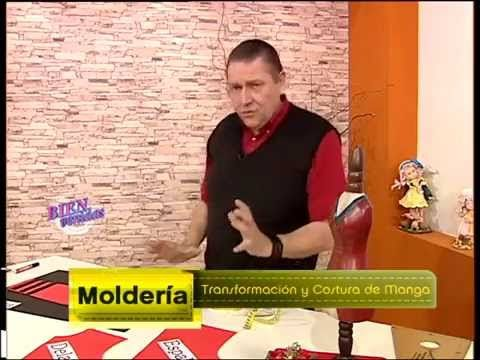 Explica como TRANSFORMAR Y COSER UNA MANGA    Hermenegildo Zampar  - Bienvenidas TV - Explica como Transformar y Coser...