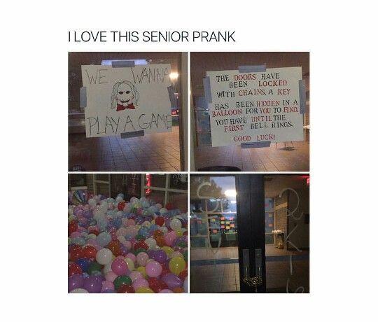 Senior prank