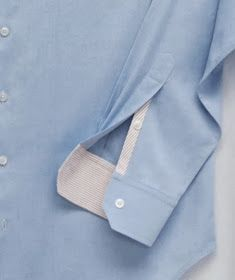 """The Shirt-Sleeve Placket - a Professional """"Custom Shirtmaking"""" Method and Pattern // Off The Cuff...from a Shirt-Maker's Studio"""
