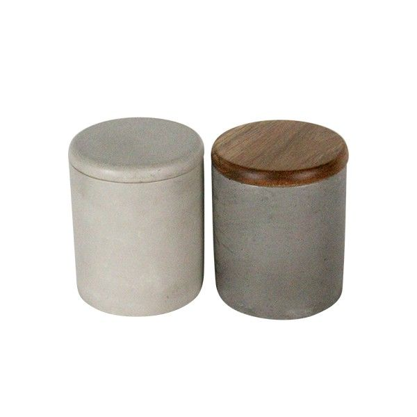 Glass,bamboo/wood+concrete/cement Material and Storage Bottles & Jars Type mini airtight concrete/cement jars, View Storage Glass Bottles And Jars, HOME IN Product Details from Shenzhen Hongying Crafts And Gifts Factory on Alibaba.com