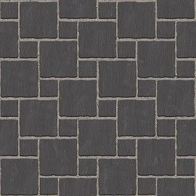Textures Texture seamless   Pavers stone mixed size texture seamless 06120   Textures -…