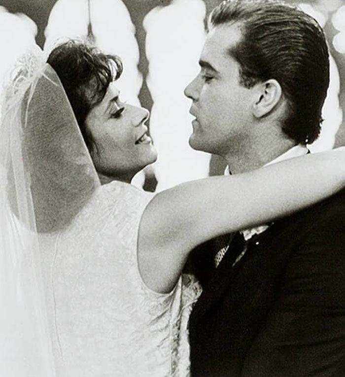 """Ray Liotta y Lorraine Bracco en """"Uno de los Nuestros"""" (Goodfellas), 1990"""