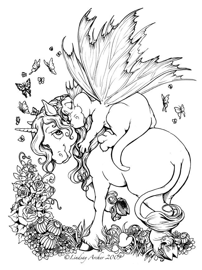 unicorn baby dragon unicorn coloring pagesadult