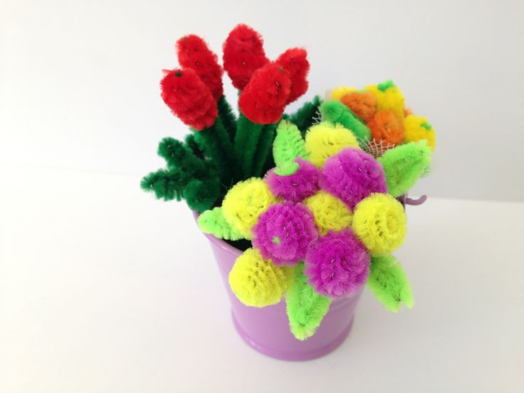 195 best limpia pipas images on pinterest for Easter crafts pipe cleaners