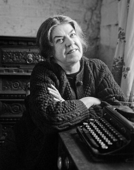 Irish writer Mary Lavin (1912 - 1996), Dublin, 1966. (Photo by Evelyn Hofer/