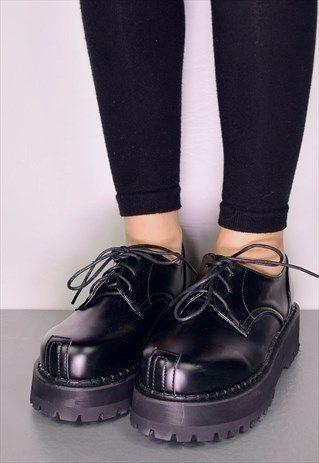 5d97f9c58da ALEXA CHUNKY LACE-UP OXFORDS | new shoes | Shoes, Ballet shoes ...