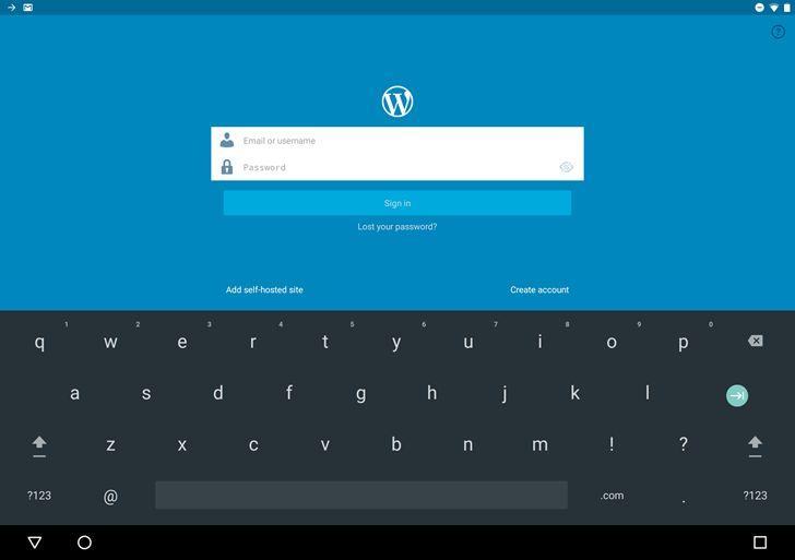 #Wordpress WordPress For Android Adds Google's Smart Lock System For Easy Password Entry  Are you there WordPress? It's me, Michael. Look, I've been trudging through your serviceable interface on seven different websites, day in and day out, for half a decade now. Best Wordpress = http://www.larymdesign.com http://www.androidpolice.com/2016/06/01/wordpress-for-android-adds-googles-smart-lock-system-for-easy-password-entry/