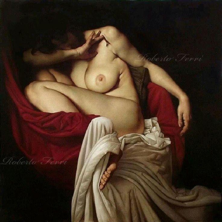 La pintura barroca, sensual y conmovedora de Roberto Ferri [Desnudos] - Cultura Inquieta