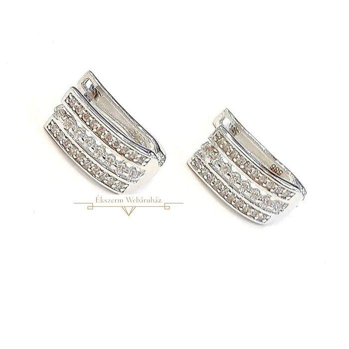 b8650cba13 Fehérarany Fülbevaló SG 48360 | Arany ékszerek | Jewelry, Rings és ...