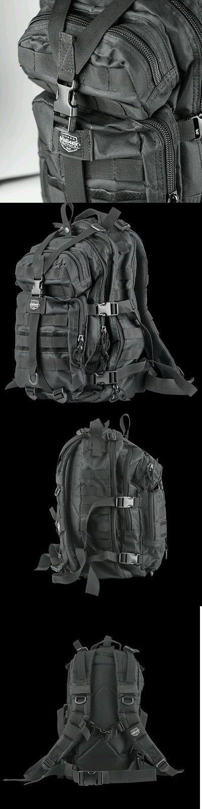 Equipment Bags and Cases 64672: New Valken Paintball Kilo Compact Tactical Backpack Gear Equipment Bag - Black -> BUY IT NOW ONLY: $32.99 on eBay!