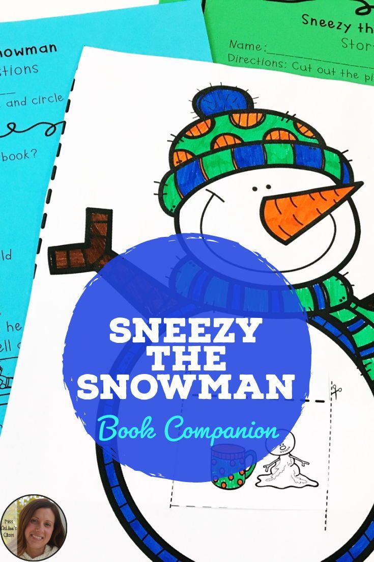 754187c21772 Sneezy the Snowman Book Companion