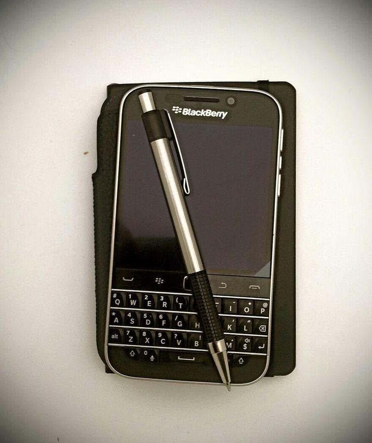Classic Zebra F301 & Blackberry Classic & Moleskine