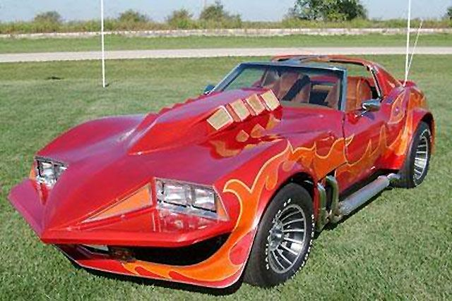 "Movie Car from Mark Hamill's ""Corvette Summer"" Being Auctioned 