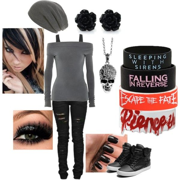 """Emo/Scene"" by xxyounghopexx on Polyvore 