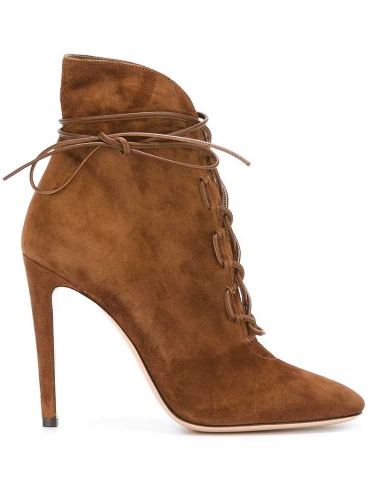 Walk into fall in style in these Gianvito Rossi heeled boots, shop now at  Farfetch