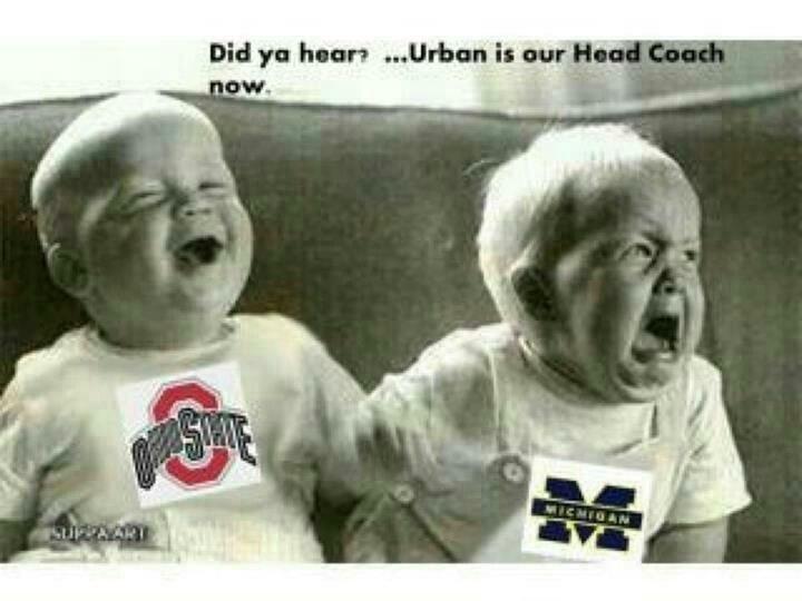 Ohio State vs. Michigan humor