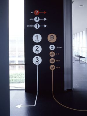 Continuous extended signage