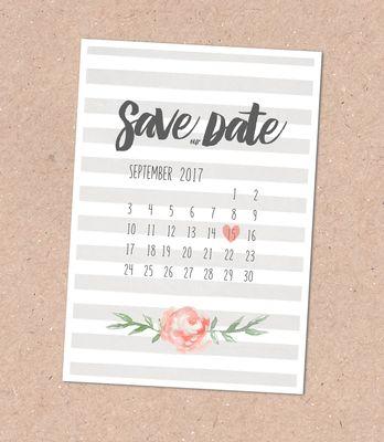 Save the Date Karte (Juhu Papeterie, Karlsruhe, Pocketfold-Einladung, Hochzeitsset, mint, apricot, türkis, Blumen, Pfingstrosen, Hochzeitseinladung)