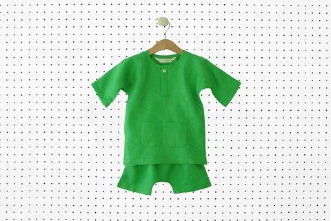 Green Jebat Baju Melayu   whimsigirl