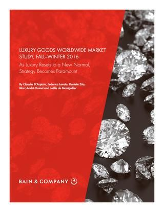 bain and company luxury report pdf