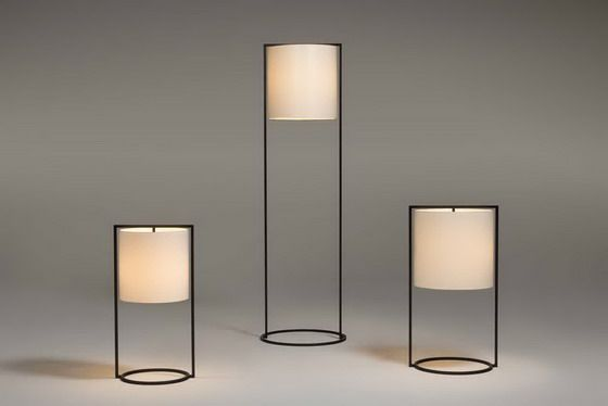 Kevin Reilly PATTERN desk, table and floor lights