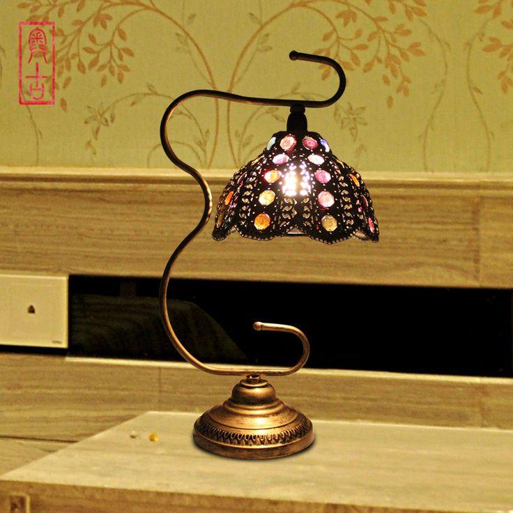 boheme home accents   | Style bohème américain. rustique. lampe de table lampe de table ... <3