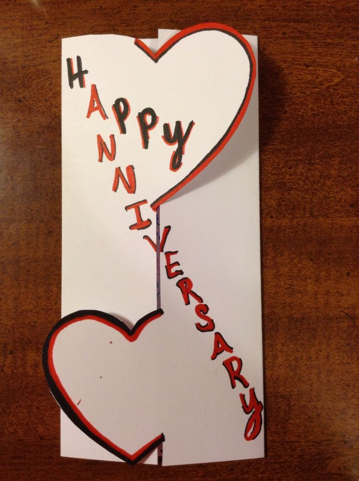 Anniversary card for my parents 31st wedding anniversary! 2016!