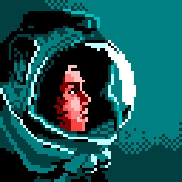 art to retro pixelart game