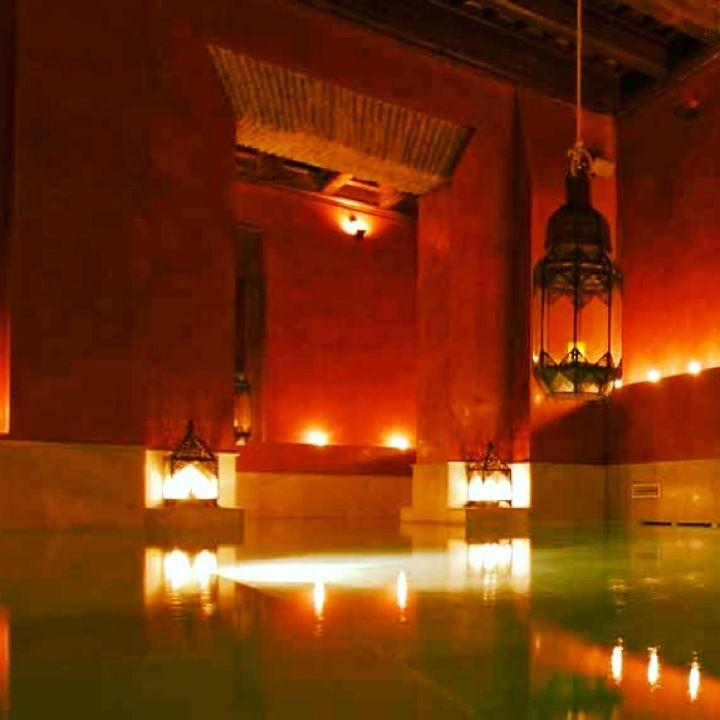 bathhouse- wished i had gone.  Aires de Sevilla Baños Arabes