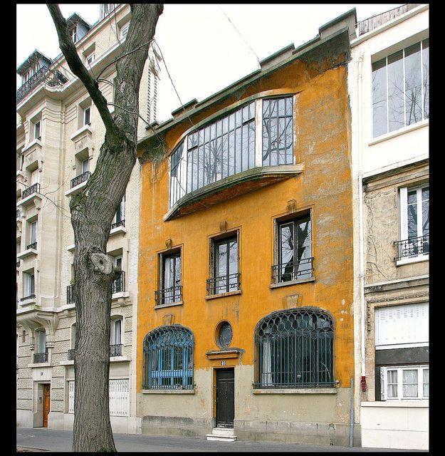 Maison-atelier des Peintres-graveur Claude & Fernand Hertenberger [1921-23]- Paris XIVe by RUAMPS ©, via Flickr