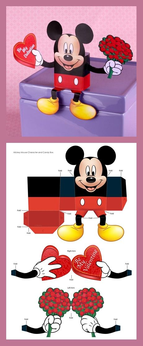 Mickey's Valentine's Day Candy Box