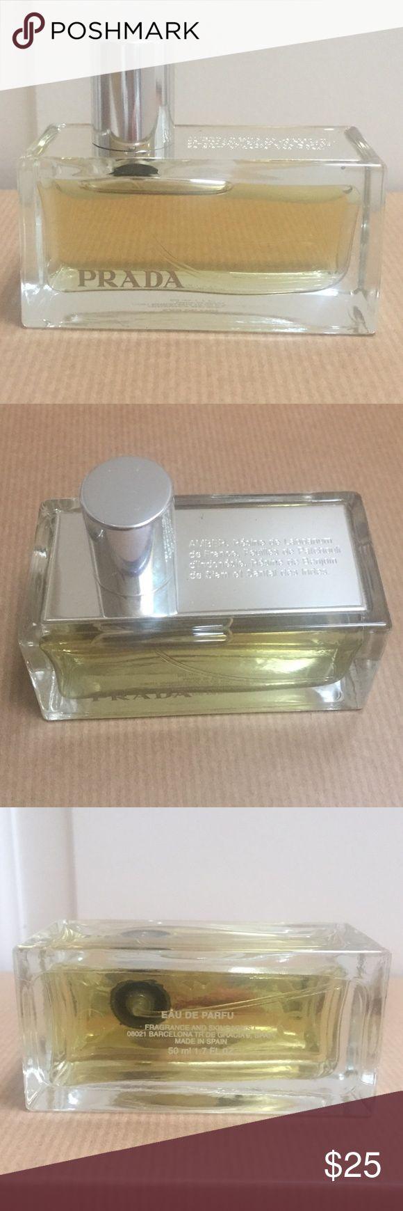 Prada Amber Prada Amber Eau de Parfum. Used a few times, but still a very full bottle. Prada Makeup