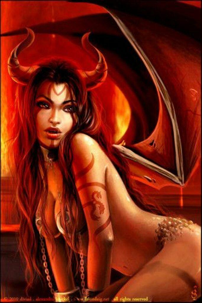 Sexy devil girl myspace layouts — photo 14