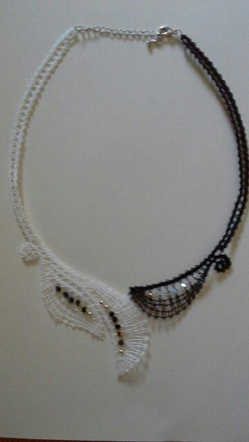 Ogrlica, Irma Pervanja. Izdelava carmen lipush