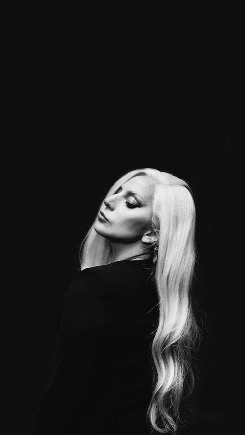 Gaga Glorious Portrait Photograph. Showcasing her bone structure and definitions of her unique beauty.