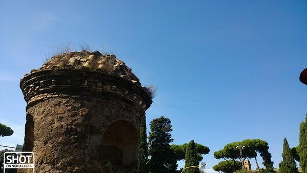 #Romaè la città delle #ottobrateromane Scatto di @Valentina Cinelli con @Nokia Italia #Lumia1020