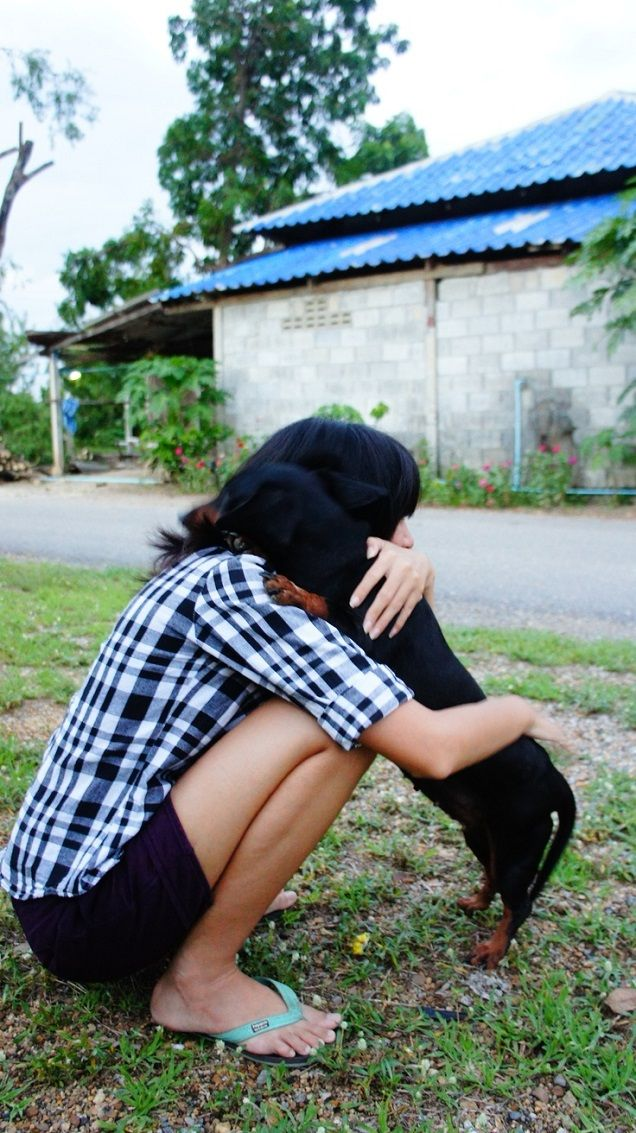 You will always have the best hug waiting for you after a bad day.