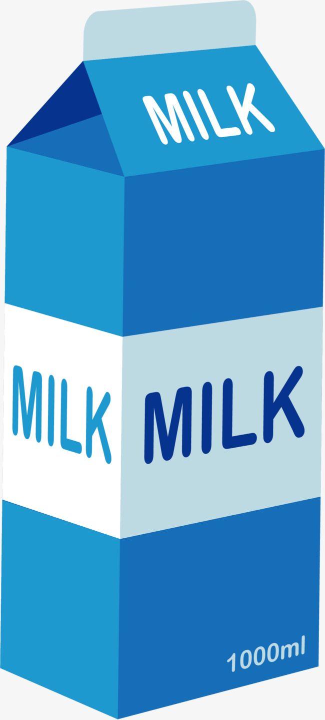 A Carton Of Milk Vector Vector Cartoon Box Png Transparent Clipart Image And Psd File For Free Download Milk Cartoon Carton