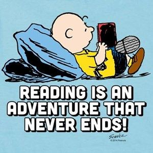 Charlie Brown-Peanuts Reading