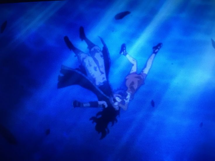 Fairy tail series 2 episode 79 Tartaros Arc: Air Gajeel and Levy kiss