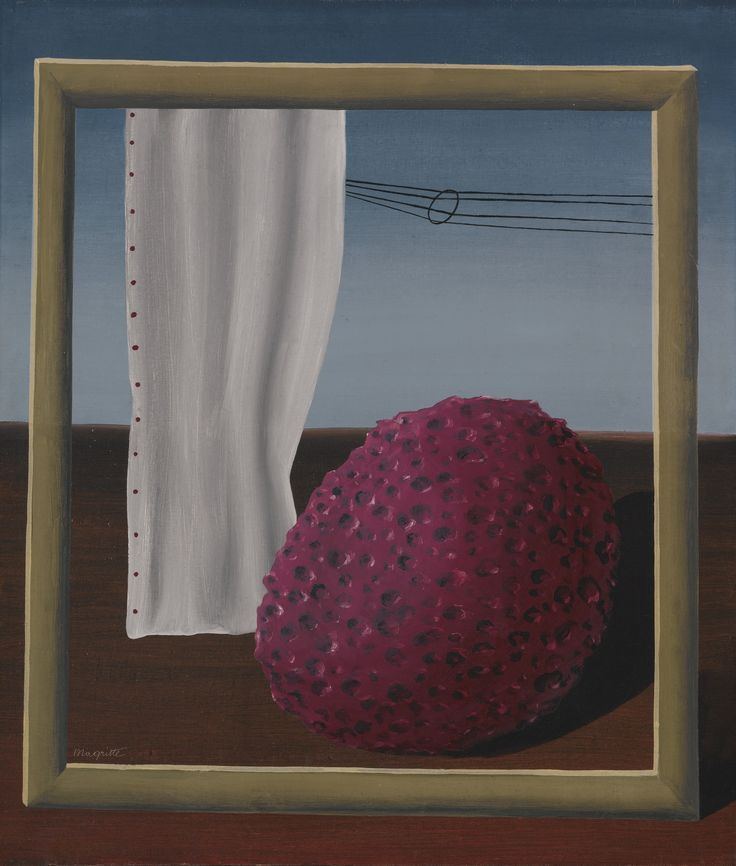 le rencontre by rene magritte