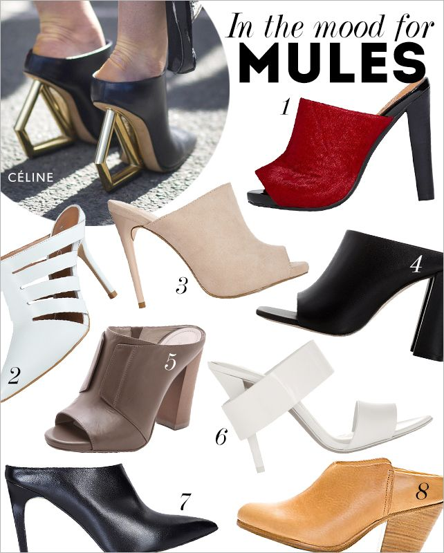 We never thought we'd say this but we're rethinking the mule - again. After hitting popular heights in the '90s, the backless heel is having another resurgence thanks to endorsements from designers...