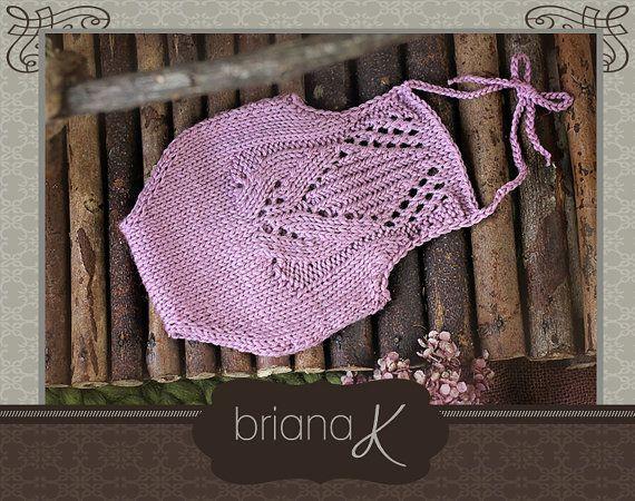 PATTERN Instant Download Newborn Knit Tulip por BrianaKcrochet